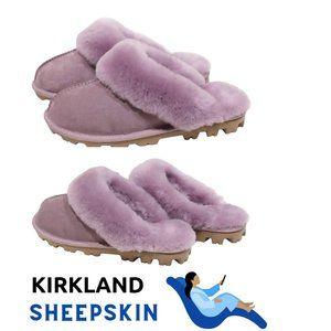 KIRLAND Signature Ladies' Shearing Slipper Mauve